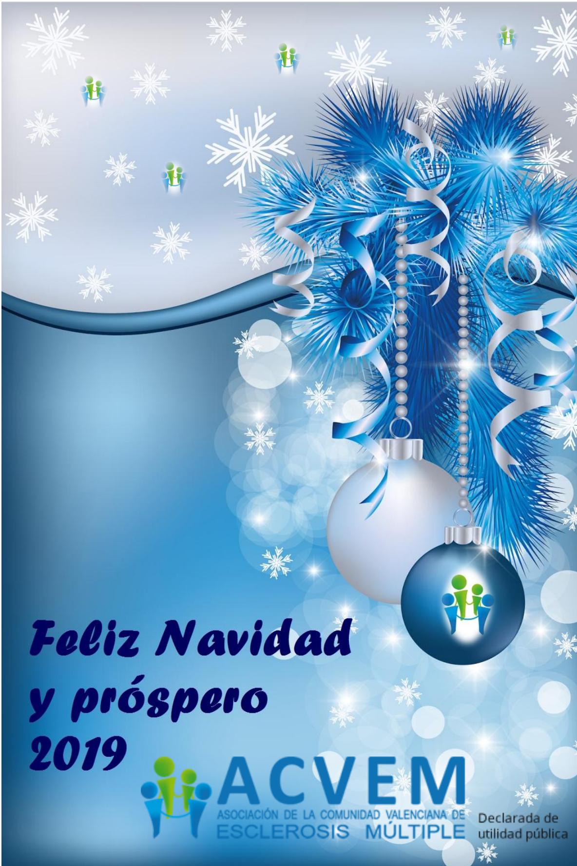 Imagenes Felicitacion Navidad 2019.Felicitacion Navidad 2019 Acvem